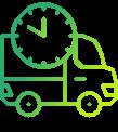 Transport durch renommierte Transportunternehmen